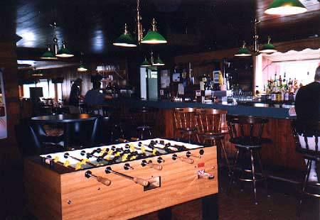 Monical's Pizzainterior, the Arrowhead's bar remains